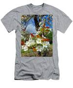 Springtime Pear Blossoms - Hello Spring Men's T-Shirt (Athletic Fit)