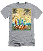 Summer Break By Madart Men's T-Shirt (Athletic Fit)