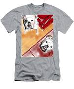 The Bulldogs Men's T-Shirt (Athletic Fit)