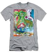 the WEDDING of the RABBITS Men's T-Shirt (Athletic Fit)