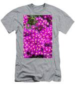 Tiny Dancer - Colorful Midday Flowers Lampranthus Amoenus Flower In Bloom In Spring. Men's T-Shirt (Athletic Fit)