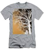 Tree In Abstract Men's T-Shirt (Athletic Fit)