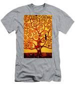Tree Life Men's T-Shirt (Athletic Fit)