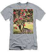 Wagon Wheel Bench Men's T-Shirt (Athletic Fit)