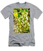 White Locoweed On Highline Trail In Glacier National Park-montana Men's T-Shirt (Athletic Fit)