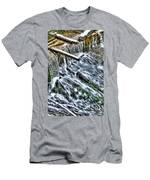 Winter Waterfall 2 Men's T-Shirt (Athletic Fit)