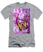 Yellow Wings Men's T-Shirt (Athletic Fit)