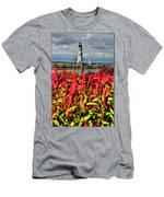 004 Summer Sunrise Series Men's T-Shirt (Athletic Fit)