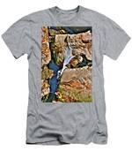 Hidden Images Vert Men's T-Shirt (Athletic Fit)