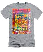 Occupy Hollywood Men's T-Shirt (Athletic Fit)