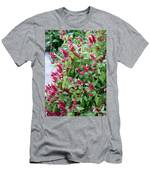 Pink Shrimp Plant Men's T-Shirt (Athletic Fit)
