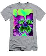 Pansy Power 84 Men's T-Shirt (Athletic Fit)