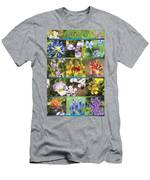 Spring Wildflowers II Men's T-Shirt (Athletic Fit)