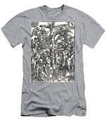 The Crucifixion Men's T-Shirt (Athletic Fit)