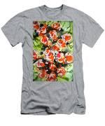 Divine Blooms Men's T-Shirt (Athletic Fit)