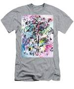 Abstract Expressionsim Art Men's T-Shirt (Athletic Fit)