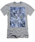 Hamburg Germany City Map Men's T-Shirt (Athletic Fit)