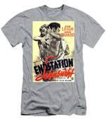 A Streetcar Named Desire Stylish European Portrait Poster Men's T-Shirt (Athletic Fit)