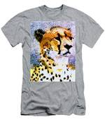African Cheetah Men's T-Shirt (Athletic Fit)