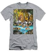 Afternoon Resting Place Men's T-Shirt (Athletic Fit)