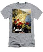 Amalfi Italy Men's T-Shirt (Athletic Fit)