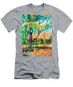 Autumn Season Men's T-Shirt (Athletic Fit)