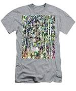 Bamboo Background In Nature Men's T-Shirt (Athletic Fit)