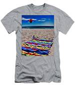 Beach Towel Men's T-Shirt (Athletic Fit)