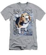 Beagle Nanni Men's T-Shirt (Athletic Fit)