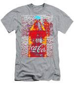 Bottle Of Coca-cola Men's T-Shirt (Athletic Fit)