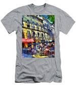 Cafe 2 Provence Men's T-Shirt (Athletic Fit)