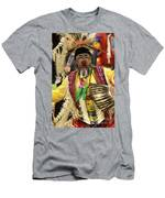 Pow Wow Chicken Dancer Men's T-Shirt (Athletic Fit)