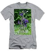 Clematis Vine Men's T-Shirt (Athletic Fit)