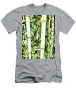 Close Up Big Fresh Bamboo Men's T-Shirt (Athletic Fit)