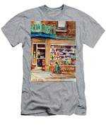 Depanneur St.viateur Men's T-Shirt (Athletic Fit)