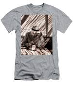 Doing The Crossword Puzzle Men's T-Shirt (Athletic Fit)