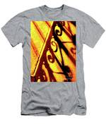 Fence Shadows 5 Men's T-Shirt (Athletic Fit)