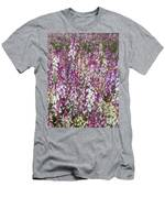 Field Of Multi-colored Flowers Men's T-Shirt (Athletic Fit)