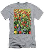 Fields Of Beauty 62 Men's T-Shirt (Athletic Fit)