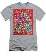 Floral Field  Men's T-Shirt (Athletic Fit)