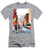 Fujianese Neighborhood Men's T-Shirt (Athletic Fit)