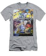 Great Balls Of Fire Men's T-Shirt (Athletic Fit)
