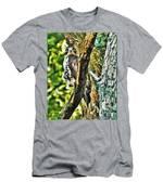 Hawk On Blue Hole Road Men's T-Shirt (Athletic Fit)