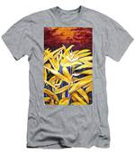 Heliconia Men's T-Shirt (Athletic Fit)