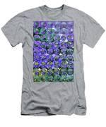 Hydrangea Bubbles Men's T-Shirt (Athletic Fit)