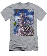 Imperial Tree Flowers Men's T-Shirt (Athletic Fit)