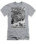 Infrared Indian River State College Hendry Campus #8 Men's T-Shirt (Athletic Fit)