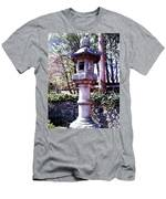 Koi Pond Statue Men's T-Shirt (Athletic Fit)