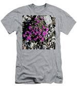 Lavender In The Rocks Men's T-Shirt (Athletic Fit)