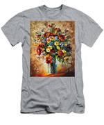 Magic Flowers Men's T-Shirt (Athletic Fit)